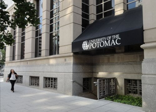 University of the Potomac master's in marketing online