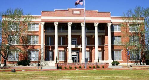 Wayland Baptist University mpa online