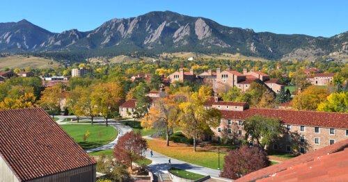 University of Colorado-Boulder bachelor of environmental design