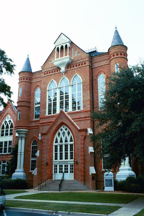 University of Alabama marine science degree