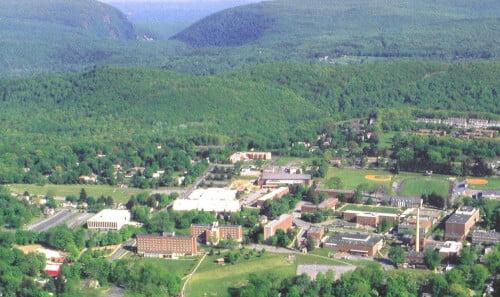 East Stroudsburg University marine science degree