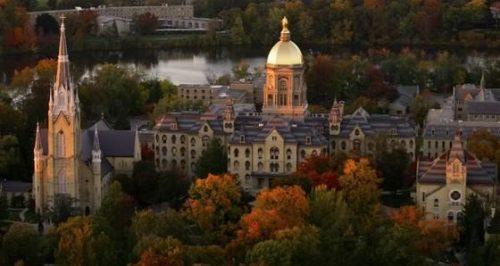 University of Notre Dame-Best Value Conservative Colleges
