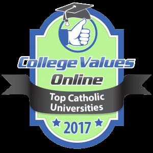 College Values Online - Top Catholic Universities 2017-01