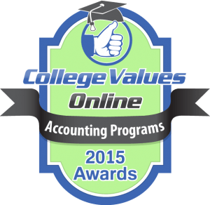 College Values - 2015 Awards - Accounting Programs