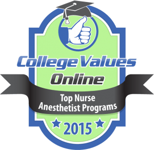 College Values Online - Top Nurse Anesthetist Programs 2015