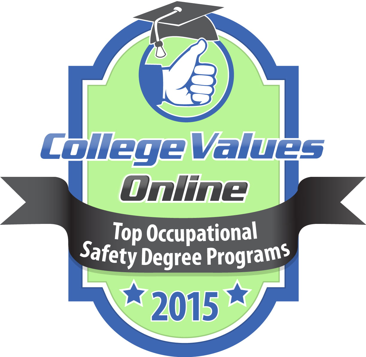 best values in occupational safety degree programs college college values online top occupational safety degree programs click here for high resolution badge