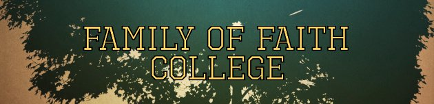 Family of Faith College Online Business Degree