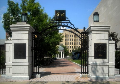 George Washington University online master's in public relations