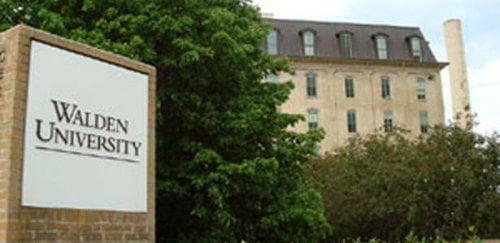 Walden University master marketing online