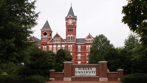 Auburn University Best nutritionist degree online