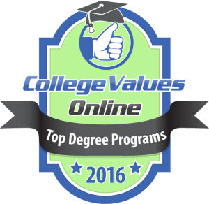 College Values Online - Top Degree Programs 2016