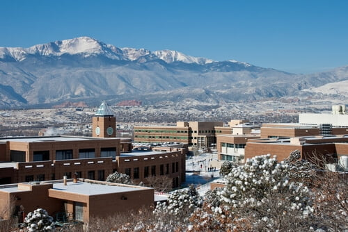 University of Colorado Colorado Springs bachelor's degree in anthropology