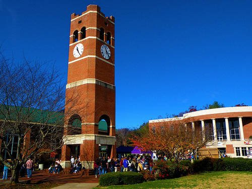 Western Carolina University Best RN programs online
