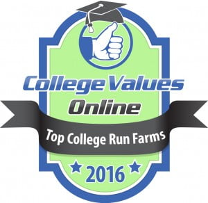 College Values Online - Top College Run Farms 2016