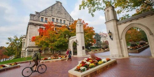 Indiana University Bloomington computer science degrees for international students
