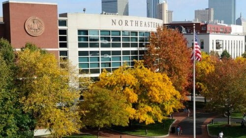 Northeastern University computer science degrees for international students