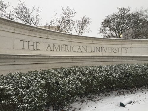 American University master's in sports management online
