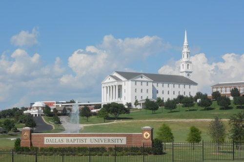 Dallas Baptist University online human resources master's degree