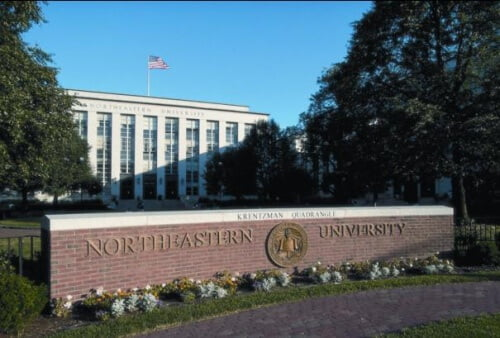 Northeastern University online master's degree in sports management