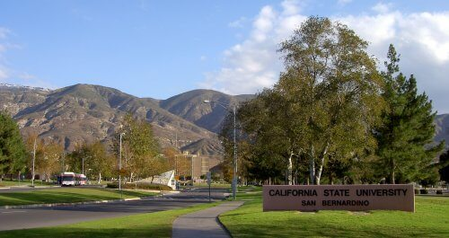 University of California- San Bernardino anthropology degree