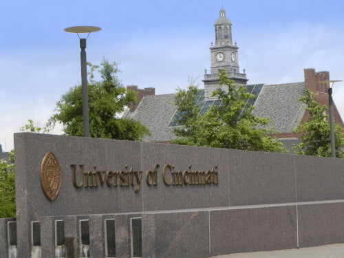 University of Cincinnati bachelor's degree in archaeology