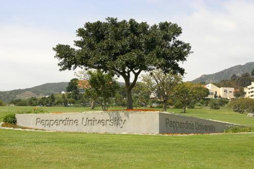 Pepperdine University online master's in organizational leadership