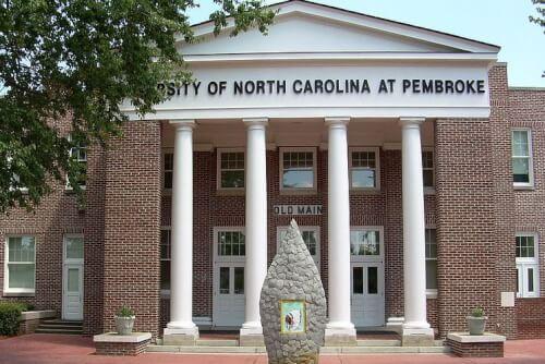 University of North Carolina at Pembroke mpa online