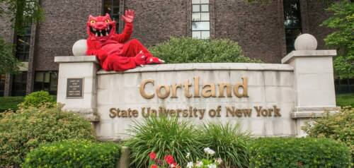 SUNY - College of Cortland bachelor's degree in anthropology