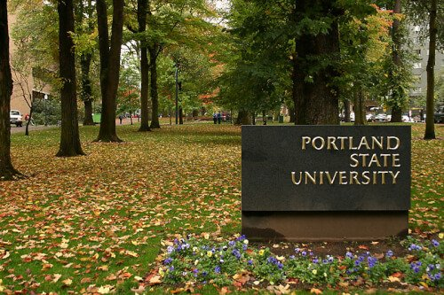 Portland State University bachelor of regional and urban planning