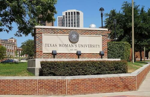Texas Woman's University master's in health administration online