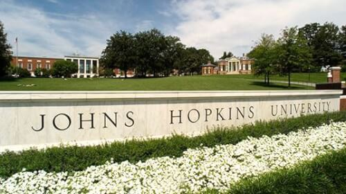 Johns Hopkins University is one of the top universities in the United States and is ranked #10 among national universities by U.S. News and World Report.