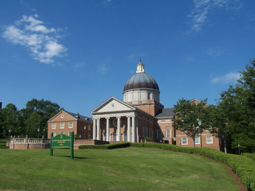 Samford University bachelor's degree in marine science
