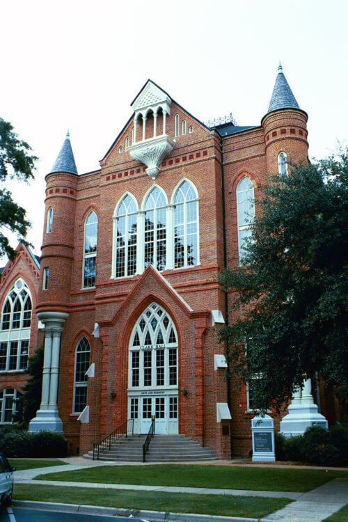 University of Alabama marine science degree