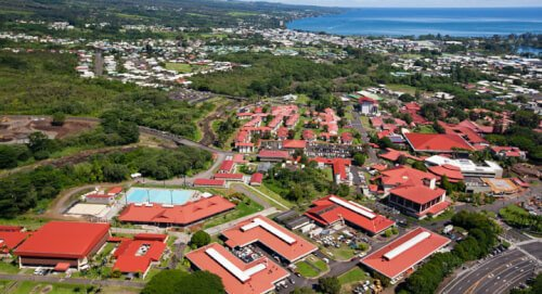 University of Hawaii at Hilo marine science degree