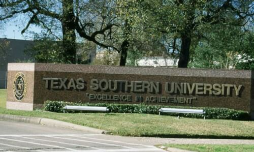 Texas Southern University accelerated online master's in criminal justice