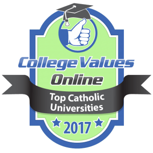 College Values Online - Top Catholic Universities 2017-01