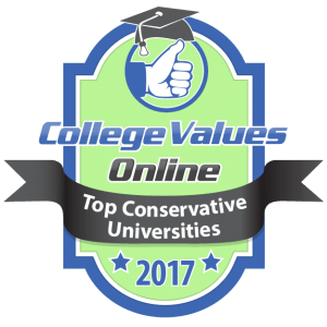 College Values Online - Top Conservative Universities 2017-01