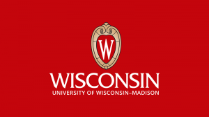 The logo for the University of Wisconsin which placed 2nd in our ranking for colleges rowing