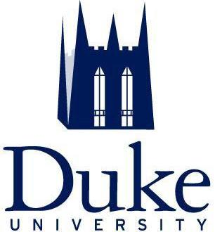 The logo for Duke University which is one of the schools with most rhodes scholars