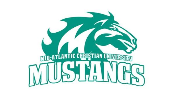 The logo for the Mustangs which offers a great associate degree in theology