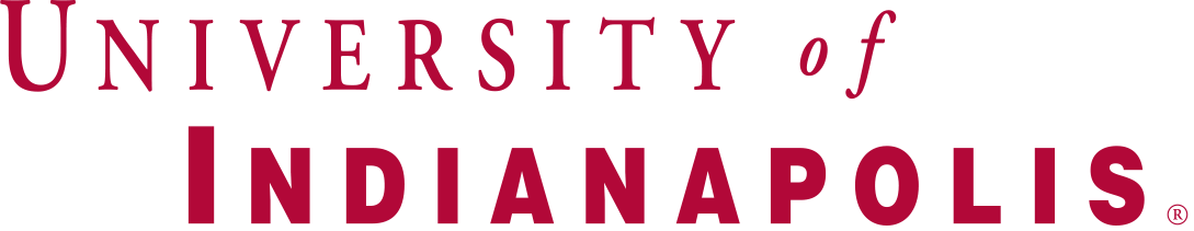 The logo for University of Indianapolis which is one of the best safety schools for computer science