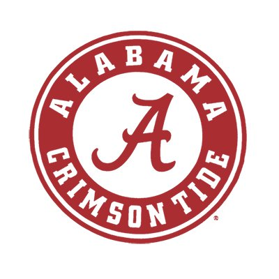 Logo for University of Alabama Roll Tide Entry as a top women's soccer colleges finalist