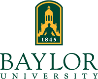 The logo for Baylor University which is one of the most conservative colleges