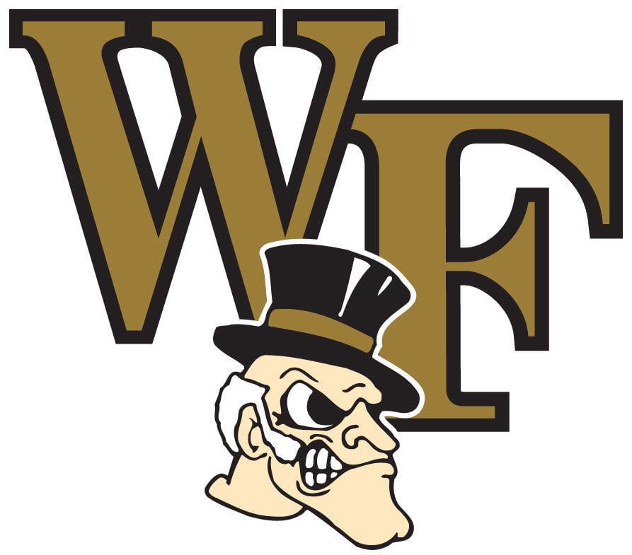 The logo for Wake Forest Demon Deacons college women soccer rankings entry