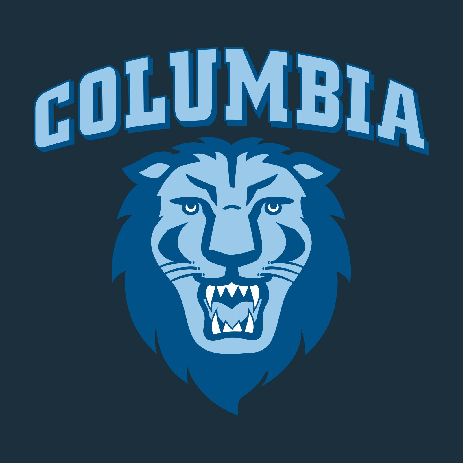 The logo for Columbia University which placed 26th in our ranking for best rowing colleges