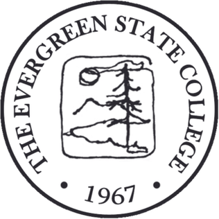 The logo for The Evergreen State College wich is one of the top schools on our list of colleges northwest