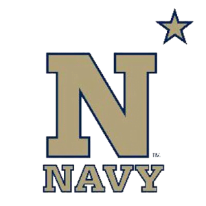 The logo for United States Naval Academy which placed 10th in our ranking for college rowing teams