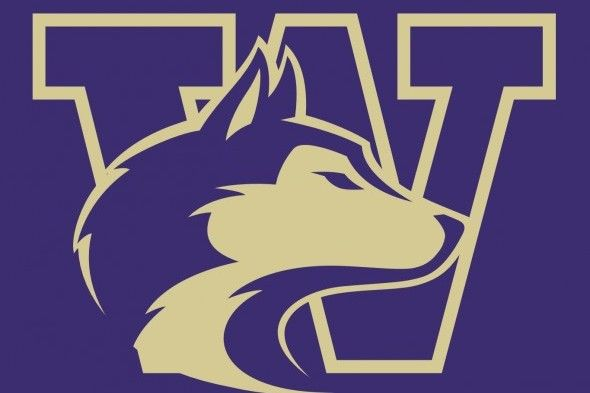 The logo for University of Washington which placed 3rd in our ranking for colleges crew