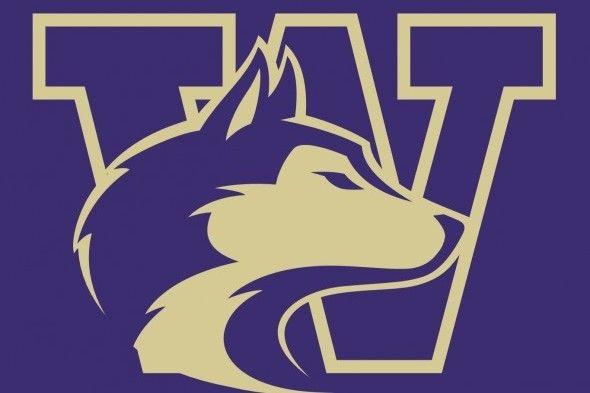 The logo for the University of Washington Huskies college women soccer rankings entry