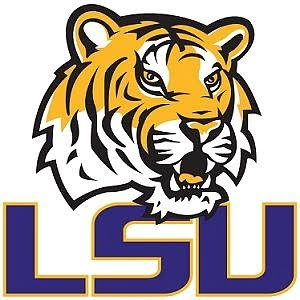 Logo for LSU included in our division 1 women's soccer colleges list